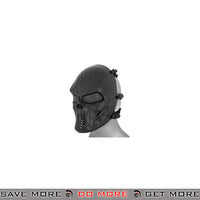 Emerson Villain Skull Mesh Face Mask - Dark Gray Face Masks- ModernAirsoft.com