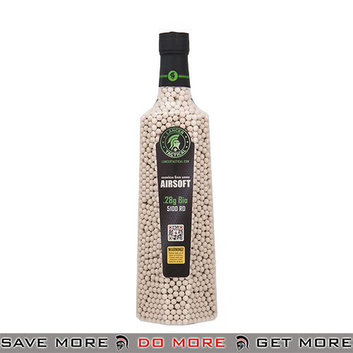 Lancer Tactical 5100 rds 0.28g Biodegradable BBs CA-128BIO - White BBs, Batteries, Gas- ModernAirsoft.com