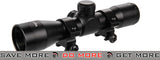 Lancer Tactical 4x 32 Red & Green Illuminated Rifle Scope (190mm) Illuminated Scopes- ModernAirsoft.com