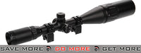 Lancer Tactical 4-16x 50mm Red, Green, Blue Illuminated Rifle Scope w/ Sun Shade Illuminated Scopes- ModernAirsoft.com