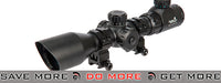 Lancer Tactical 3-9x 205mm Shockproof Red & Green Illuminated Rifle Scope Illuminated Scopes- ModernAirsoft.com