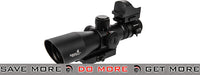 Lancer Tactical 3-9x 42mm Red & Green Illuminated Rifle Scope w/ Micro Red Dot Sight Illuminated Scopes- ModernAirsoft.com