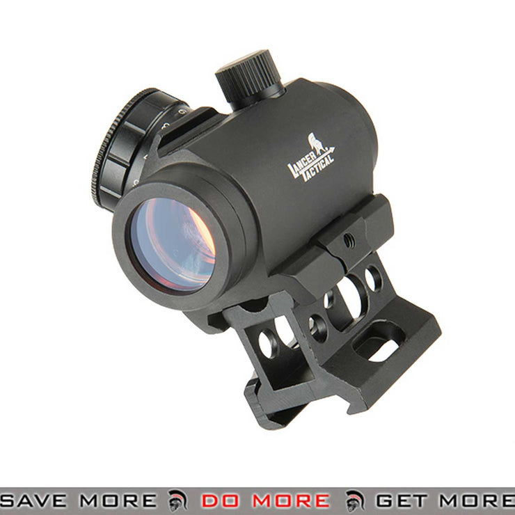 Lancer Tactical 1x30 Red Dot Sight w/ Picatinny Riser