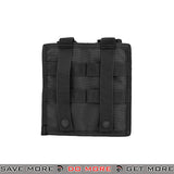 Lancer Tactical Double Snap Closure M4 / M16 Magazine Shingle Pouch CA-1513BN - Black Ammo Pouches- ModernAirsoft.com