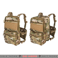 Lancer Tactical Quick Detach Expanding Pack & Chesty Rig Combo CA-1615CN - Arid Camo Backpacks- ModernAirsoft.com