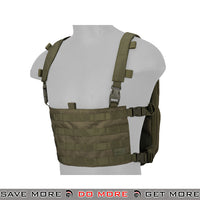 Lancer Tactical Quick Detach Expanding Pack & Chesty Rig Combo CA-1615GN - OD Green Backpacks- ModernAirsoft.com