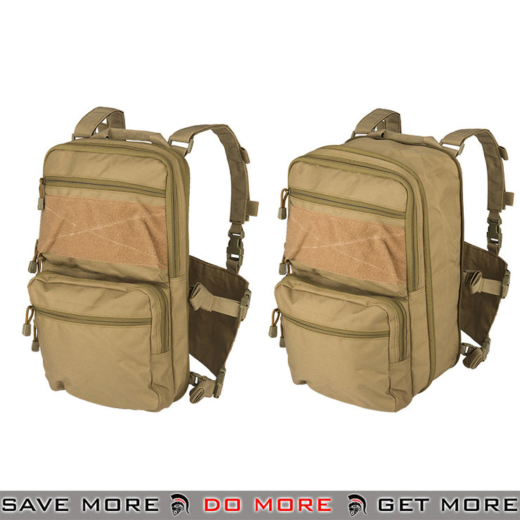 Lancer Tactical Quick Detach Expanding Pack & Chesty Rig Combo CA-1615TN - Tan Backpacks- ModernAirsoft.com