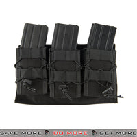 Lancer Tactical 1000D Nylon MOLLE Triple Airsoft M4/M16 Rifle Mag Pouch