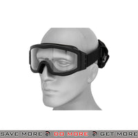 Lancer Tactical Airsoft Basic Safety Goggles CA-201B - Black Head - Goggles- ModernAirsoft.com