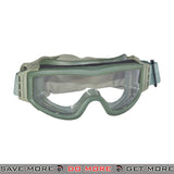 Lancer Tactical Airsoft Basic Safety Goggles CA-201G - OD Green Head - Goggles- ModernAirsoft.com