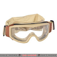 Lancer Tactical Airsoft Basic Safety Goggles CA-201T - Tan Head - Goggles- ModernAirsoft.com