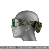 Lancer Tactical Airsoft One-Piece Lens Safety Goggles CA-234G - Digital Woodland Head - Goggles- ModernAirsoft.com