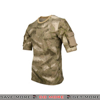 Lancer Tactical Specialist Short Sleeve Combat Shirt CA-2741AUV-M - Medium, A-TACS AU Shirts- ModernAirsoft.com