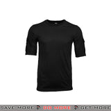Lancer Tactical Specialist Short Sleeve Combat Shirt CA-2741B-XS - Extra Small, Black Shirts- ModernAirsoft.com