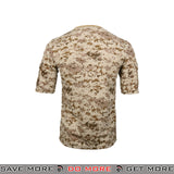Lancer Tactical Specialist Short Sleeve Combat Shirt CA-2741DD-S - Small, Desert Digital Shirts- ModernAirsoft.com
