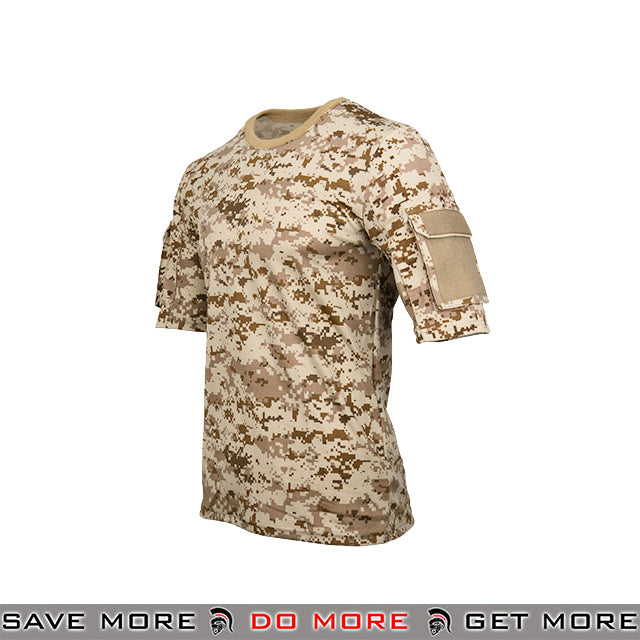 Lancer Tactical Specialist Short Sleeve Combat Shirt CA-2741DD-XXXL - XXX-Large, Desert Digital Shirts- ModernAirsoft.com