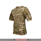 Lancer Tactical Specialist Short Sleeve Combat Shirt CA-2741MA-L - Large, Multicam Shirts- ModernAirsoft.com