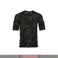 Lancer Tactical Specialist Short Sleeve Combat Shirt CA-2741MB-L - Large, Multicam Black Shirts- ModernAirsoft.com