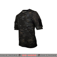 Lancer Tactical Specialist Short Sleeve Combat Shirt CA-2741MB-M - Medium, Multicam Black Shirts- ModernAirsoft.com