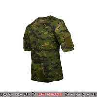 Lancer Tactical Specialist Short Sleeve Combat Shirt CA-2741MT-L - Large, Multicam Tropic Shirts- ModernAirsoft.com