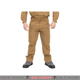 Lancer Tactical Airsoft Ripstop Outdoor Work Pants CA-2752CB - Coyote Brown Pants / Shorts- ModernAirsoft.com