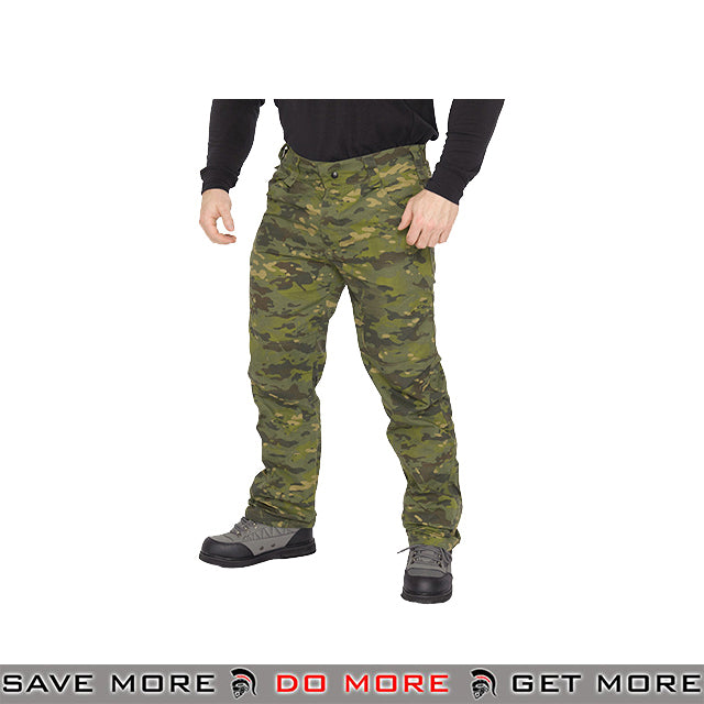 Lancer Tactical Airsoft Ripstop Outdoor Work Pants CA-2752MT - Multicam Tropic Pants / Shorts- ModernAirsoft.com