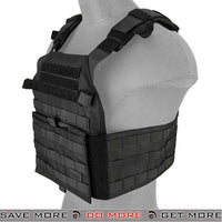 Lancer Tactical Assault Recon MOLLE Plate Carrier Black
