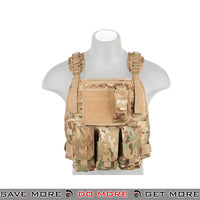 Lancer Tactical MBSS Style Plate Carrier w/ Pouches - Arid plate carrier- ModernAirsoft.com