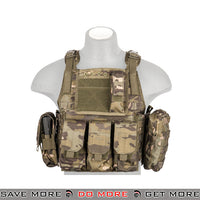 Lancer Tactical Modular Body Armor Carrier Vest w/ Pouches - Tropic plate carrier- ModernAirsoft.com