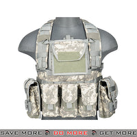 Lancer Tactical RRV Style Chest Rig - ACU plate carrier- ModernAirsoft.com