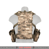 Lancer Tactical RRV Style Chest Rig - Foliage Camo plate carrier- ModernAirsoft.com