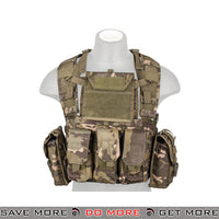 Lancer Tactical RRV Style Chest Rig - Tropic plate carrier- ModernAirsoft.com