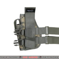 Lancer Tactical 92F Drop Leg Holster - Right Hand, ACU Holsters - Fabric- ModernAirsoft.com
