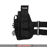 Lancer Tactical 92F Drop Leg Holster - Right Hand, Black Holsters - Fabric- ModernAirsoft.com