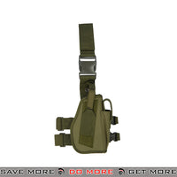 Lancer Tactical 92F Drop Leg Holster - Right Hand, OD Green Holsters - Fabric- ModernAirsoft.com
