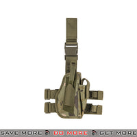 Lancer Tactical 92F Drop Leg Holster - Right Hand, Tropic Holsters - Fabric- ModernAirsoft.com