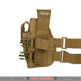 Lancer Tactical 92F Drop Leg Holster - Right Hand, Tan Holsters - Fabric- ModernAirsoft.com