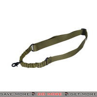 Lancer Tactical Single Point Bungee Sling - OD Green Slings- ModernAirsoft.com