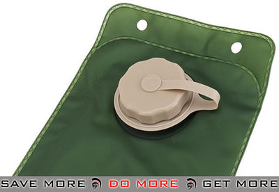 Lancer Tactical 3 Liter Hydration Bladder (Tan) Hydration Carriers- ModernAirsoft.com
