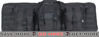 "Lancer Tactical 36"" Dual Rifle Bag (Black) Gun Bags- ModernAirsoft.com"