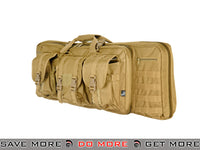 "Lancer Tactical 36"" Dual Rifle Bag (Tan) Gun Bags- ModernAirsoft.com"