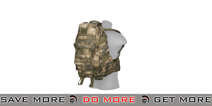 Lancer Tactical EDC Fast Pack - Foliage Camo Backpacks- ModernAirsoft.com