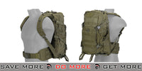 Lancer Tactical EDC Fast Pack - OD Green Backpacks- ModernAirsoft.com