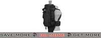 Lancer Tactical Rifle Carry Pack - Black Backpacks- ModernAirsoft.com