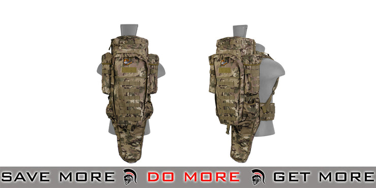 Lancer Tactical Rifle Carry Pack - Arid - Modern Airsoft