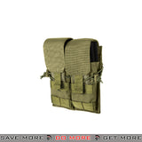 Lancer Tactical Double M4 / M16 Magazine Pouch - OD Green Ammo Pouches- ModernAirsoft.com