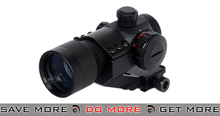 Lancer Tactical Compact Red & Green Dot Sight w/ Cantilever Mount Red Dot Sights- ModernAirsoft.com