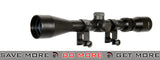 Lancer Tactical CA-408B 3-9 x 40mm Rifle Scope w/ Scope Rings Scopes- ModernAirsoft.com