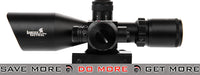 Lancer Tactical 2.5-10x 40mm Red & Green Illuminated Rifle Scope Illuminated Scopes- ModernAirsoft.com