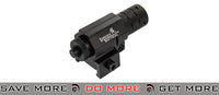 Lancer Tactical Airsoft Tactical Metal Compact Red Laser - Black Lasers- ModernAirsoft.com